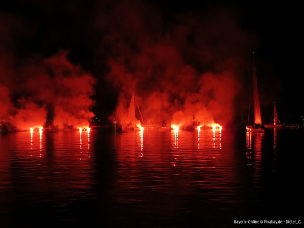 See in Flammen 2016 - Altmühlsee